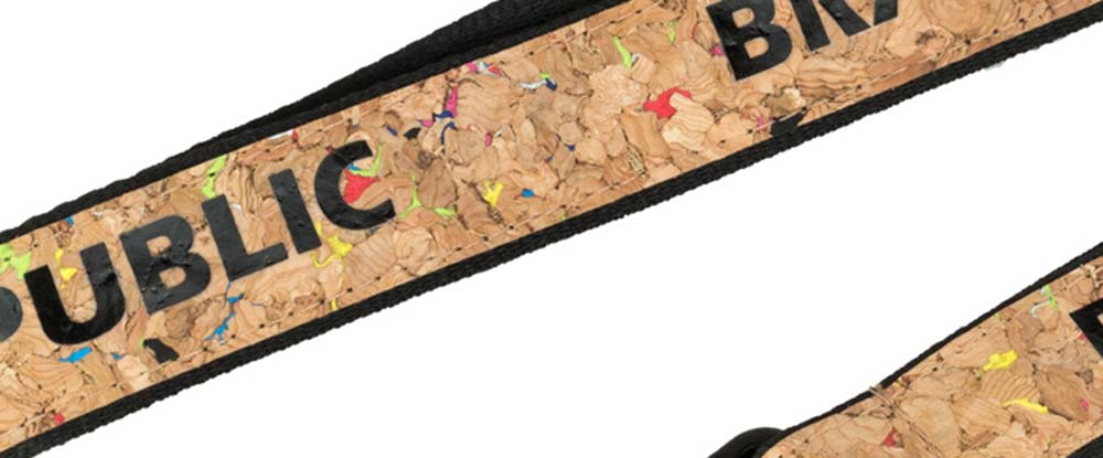 2 in 1 Polyester Lanyards with Cork