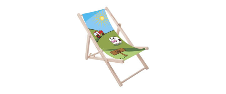 Deckchairs Kids Digital Print